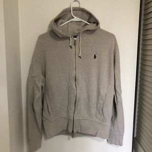 Men's Ralph Lauren Zip Hoodie Size Medium